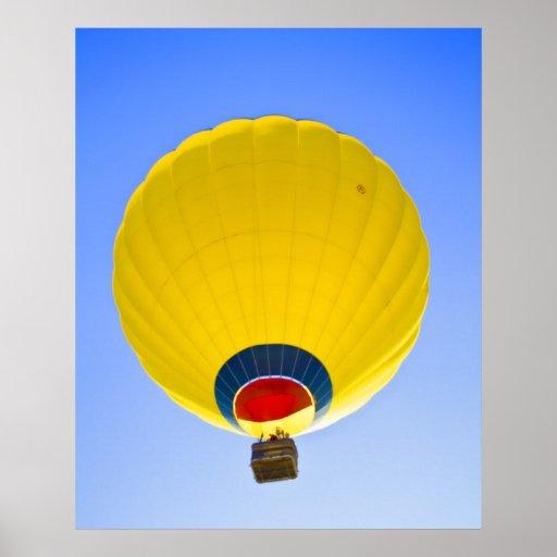 Flotador amarillo impresiones