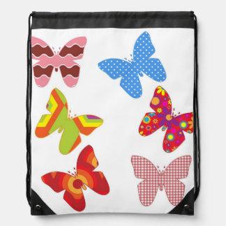 Flotador como una mariposa mochilas