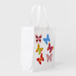 Flotador como una mariposa bolsas para la compra