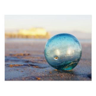 Flotador de cristal cerca del embarcadero de Romeo Postales