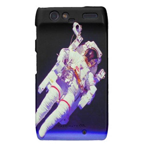flotador en astronauta de la libertad droid RAZR carcasa