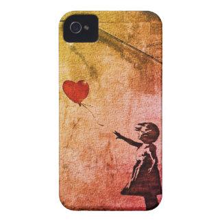 Flotadores del amor iPhone 4 Case-Mate protector