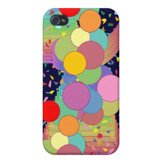 Flotadores del arco iris iPhone 4/4S carcasa