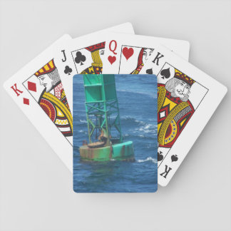 Flotando adelante, naipes estándar barajas de cartas