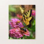 Flote como una mariposa, picadura como una abeja puzzle con fotos