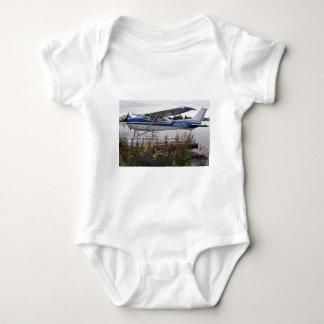 Flote el avión 10, capilla del lago, Anchorage, Playera