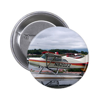 Flote el avión 12, capilla del lago, Anchorage, Al Pin