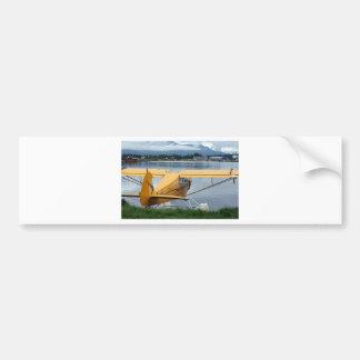 Flote el avión 6, capilla del lago, Anchorage, Ala Etiqueta De Parachoque
