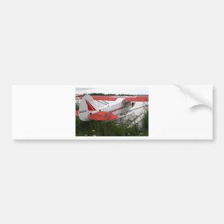 Flote el avión 9, capilla del lago, Anchorage, Ala Pegatina De Parachoque