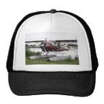 Flote el avión, capilla del lago, Anchorage, Alask Gorras