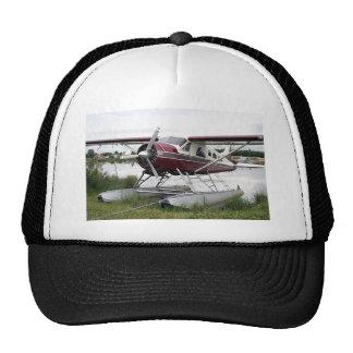 Flote el avión, capilla del lago, Anchorage, Alask Gorras De Camionero