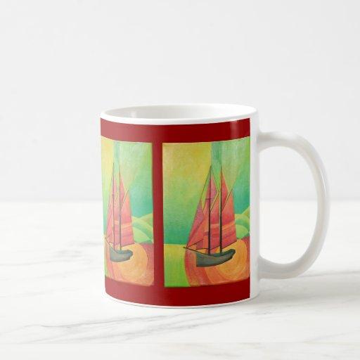 Flote mi barco tazas