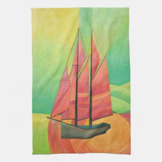 Flote mi barco toallas de mano