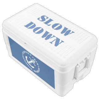 Flotilla Crew SLOW DOWN 48-Quart Cooler
