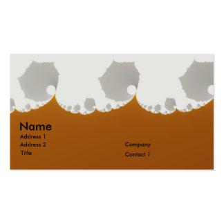 Flotsam Gallet1 - Fractal Double-Sided Standard Business Cards (Pack Of 100)