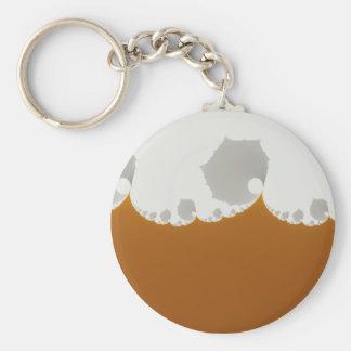 Flotsam Gallet1 - Fractal Basic Round Button Keychain