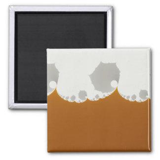 Flotsam Gallet1 - Fractal 2 Inch Square Magnet