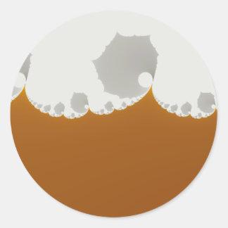 Flotsam Gallet1 - Fractal Classic Round Sticker