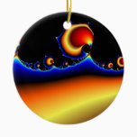 Flotsam Goodega - Fractal Ceramic Ornament