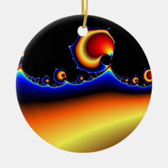 Flotsam Goodega - Fractal Ceramic Ornament