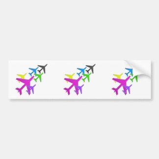 flotte d avion cadeaux pour les enfants AEROPLANE Bumper Sticker