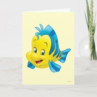 Flounder zazzle_card