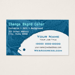 Fishing guide business cards templates zazzle flounder fish business card colourmoves Gallery