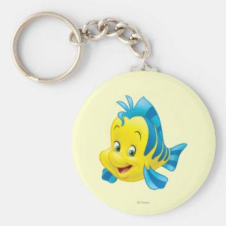 Flounder Keychain