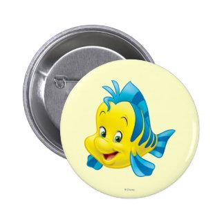 Flounder Pinback Button