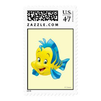Flounder Postage Stamp