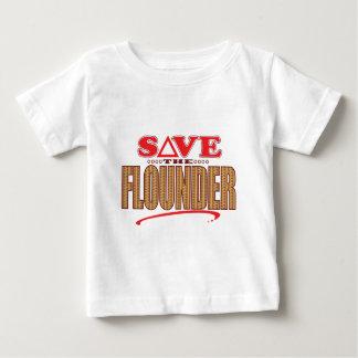 Flounder Save Baby T-Shirt