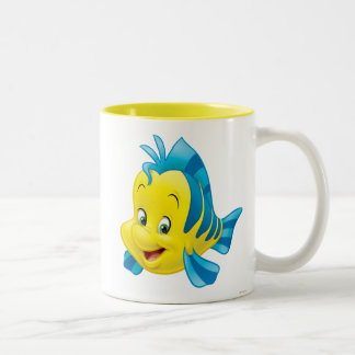 Flounder Two-Tone Coffee Mug