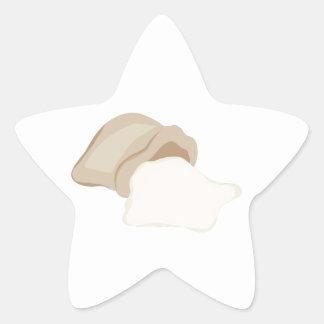 Flour Bag Star Sticker