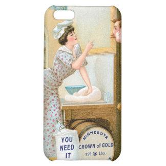 Flour Bakery Vintage Food Ad Art iPhone 5C Case