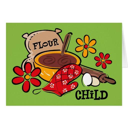 Flour Child Card