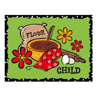 Flour Child Custom Recipe Card