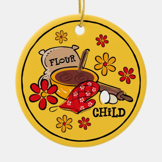 Flour Child Ornament