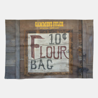 Flour for sale vintage kitchen towel design