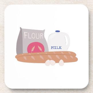 Flour & Milk Beverage Coasters