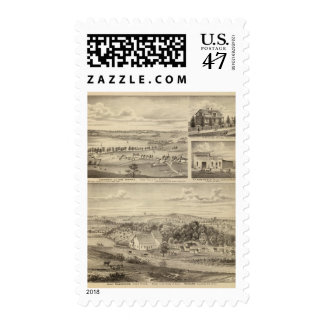 Flour Mills, Isenours Glenwood, Minnesota Postage Stamp