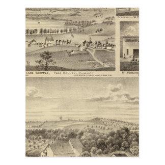 Flour Mills, Isenours Glenwood, Minnesota Postcard