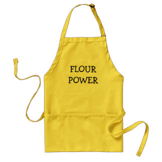 FLOUR POWER ADULT APRON