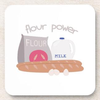 Flour Power Beverage Coaster