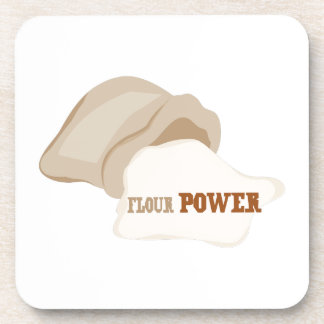 Flour Power Coasters