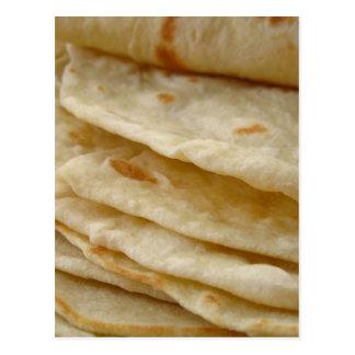 Flour Tortillas Postcard
