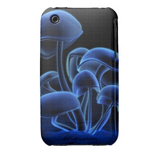 Flourescence (azul) iPhone 3 Case-Mate protector