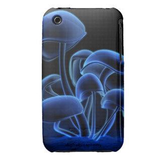 Flourescence (Blue) iPhone 3 Cases