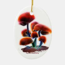 digital blasphemy, ryan bliss, art, mushrooms, christmas, ornaments, Ornamento com design gráfico personalizado
