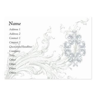 Flourish Business / Profile Card Template Business Card Template