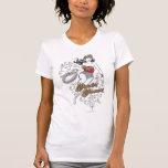 Flourish de la Mujer Maravilla Camisetas
